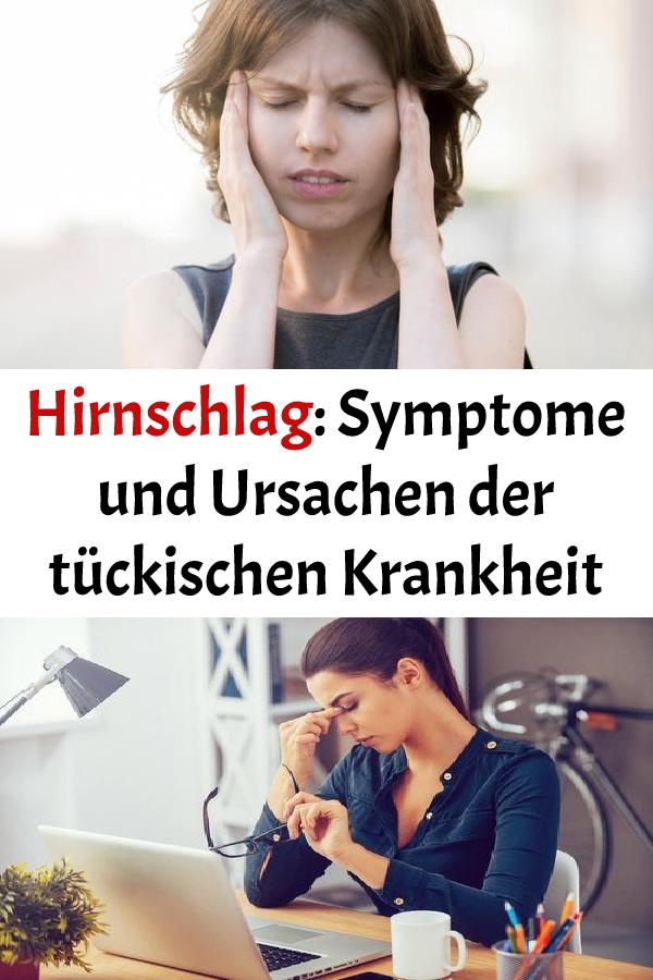 Hirnschlag: Symptome und Ursachen der tückischen Krankheit..