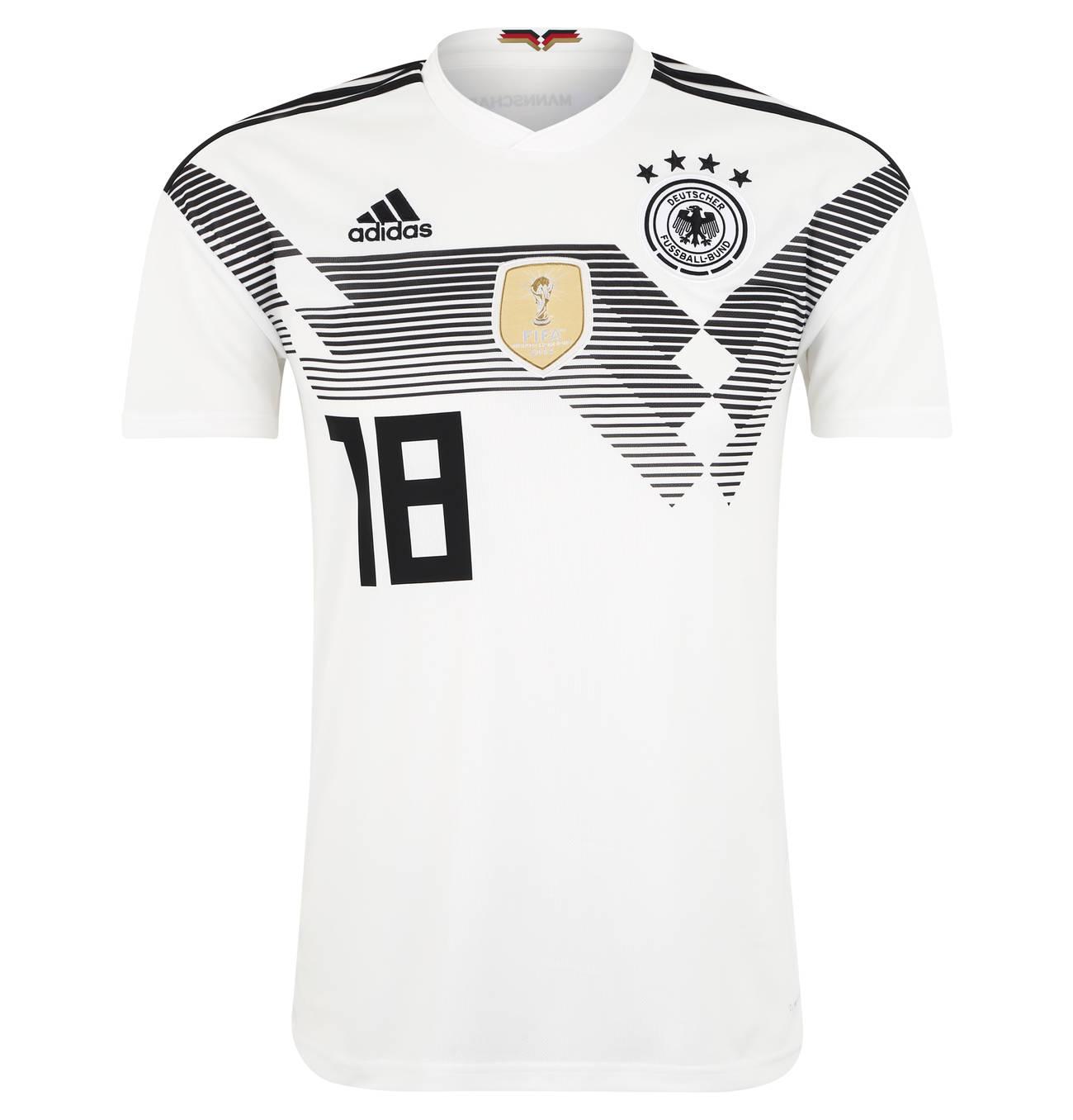 Deutschland Trikot Kimmich Home Wm 2018