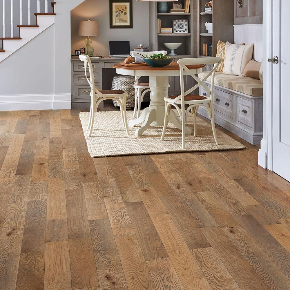 Bruce Revolutionary Rustics White Oak Subdued Gray 3 4 In T X 5 In W X Varying L Solid Hardwood Flooring 23 5 Sq Ft Case Sakhd59l4hgw The Home Depot Solid Hardwood Floors Solid Hardwood