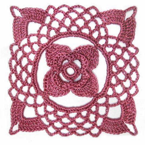 Square-Motif-20-Photo.jpg (480×480) | Crochet squares | Pinterest ...