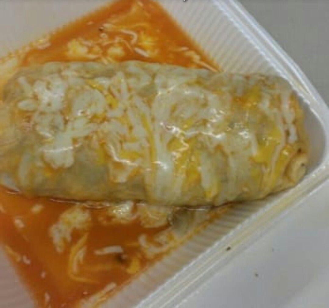 Wet Burrito With Yellow Mole Sauce Wet Burrito Recipes Mexican Food Recipes Mexican Food Recipes Authentic