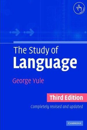 The Study Of Language English Grammar Book Language Study Grammar Book