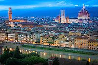 Sunset in Florence, Italy | Inge Johnsson Photography