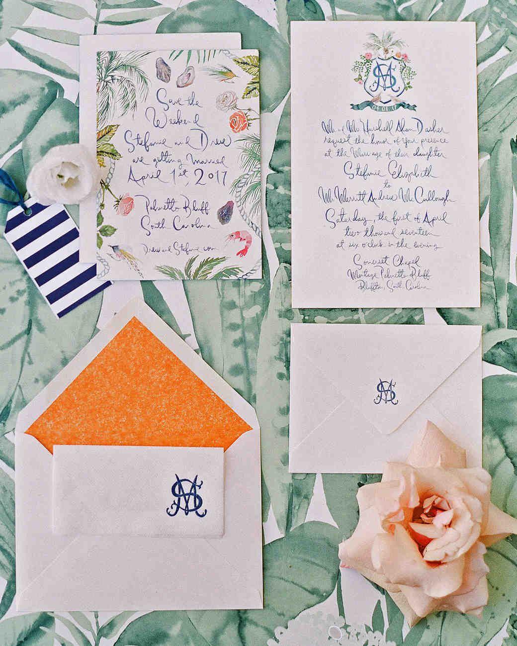A Charming Colorful South Carolina Wedding Martha Stewart