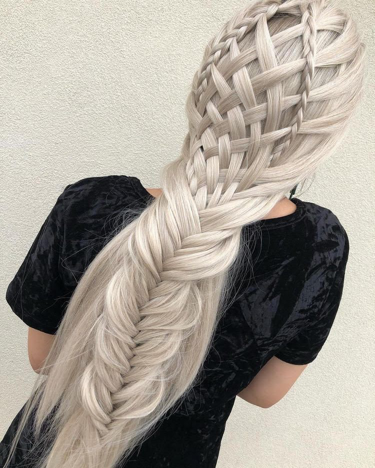 10 Amazing Hairstyles With Braids | Hair styles, French braid hairstyles, Braided hairstyles