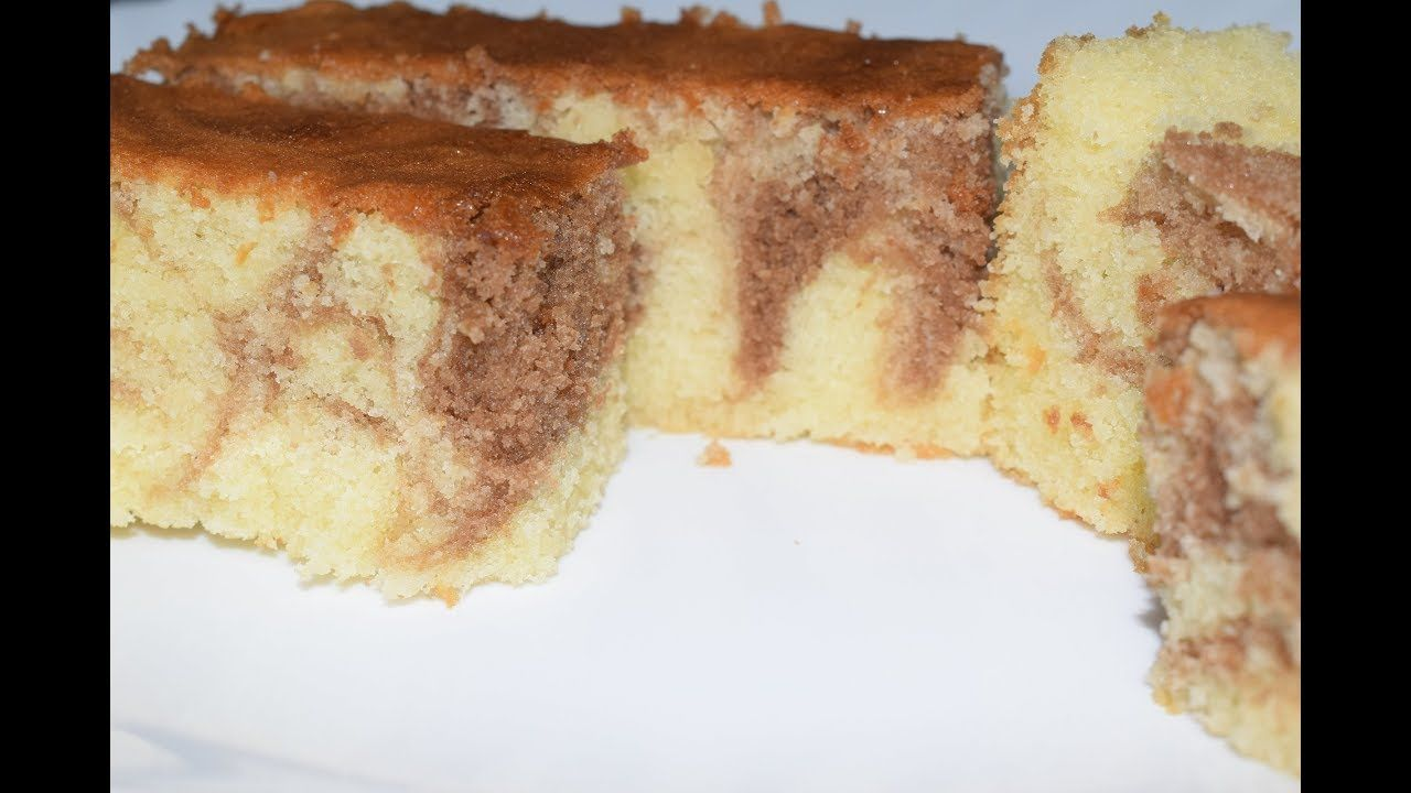 Marble Cake Recipe In Malayalam Marble Butter Sponge Cake How