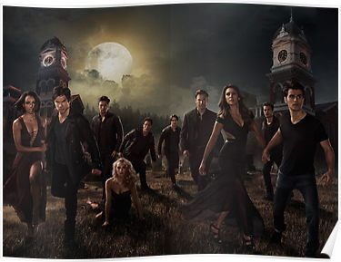 Season 6 of The Vampire Diaries Photoshoot: Cast Poster