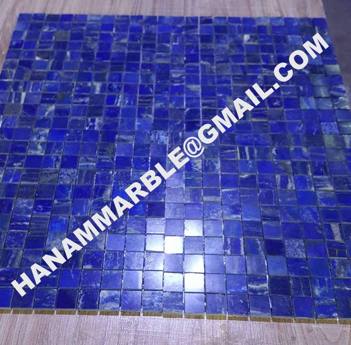 Apis Lazuli Lapis Lazuli Mosaic Lapis Lazuli Mosaic Tiles Lapis