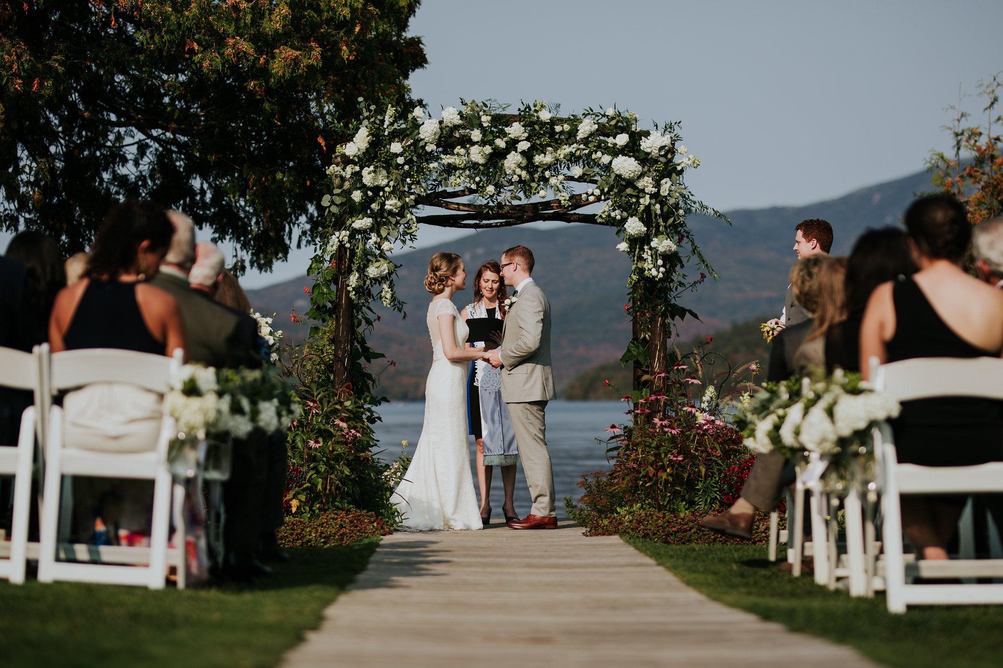 Adirondack wedding venue whiteface club resort lake