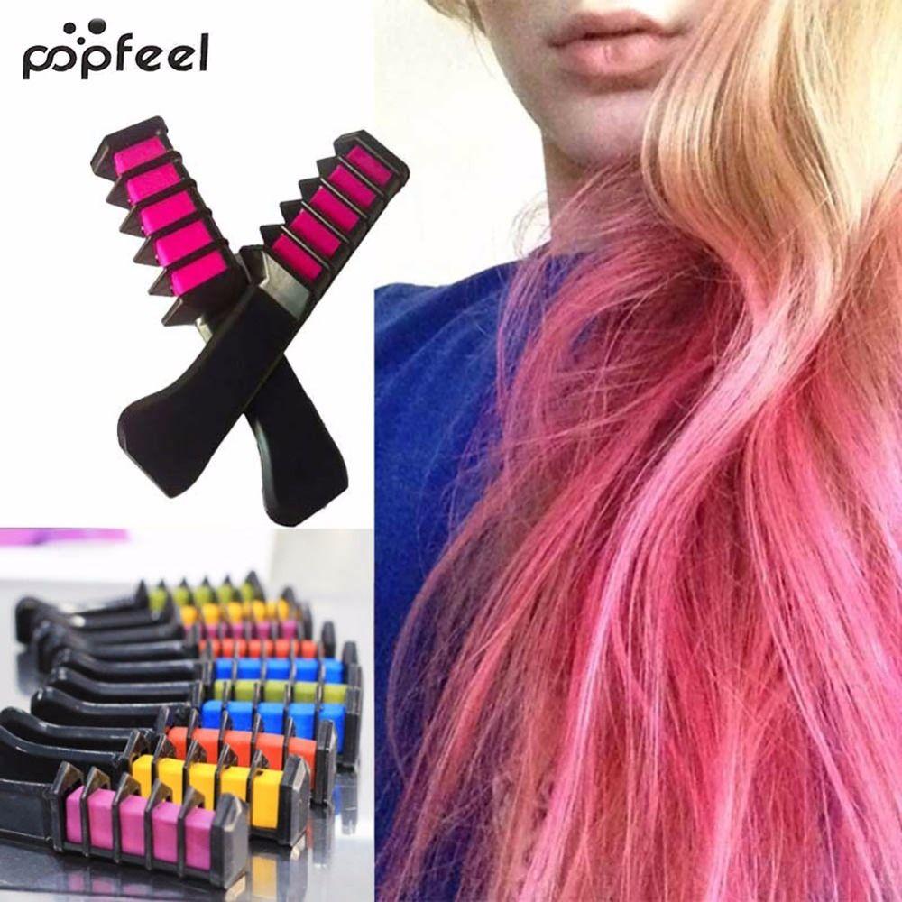 Popfeel 80ml Temporary Non Toxic Color Hair Dye Unisex Cosplay Diy