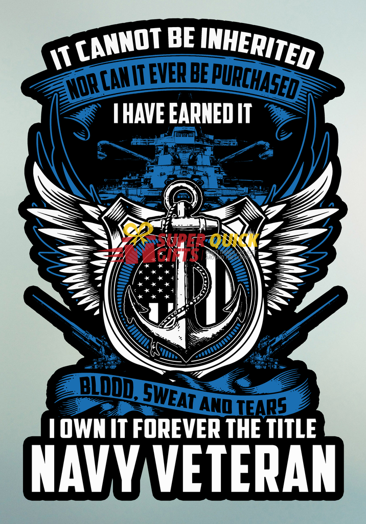 Navy Veteran Decal With Free Shipping Misc Navy