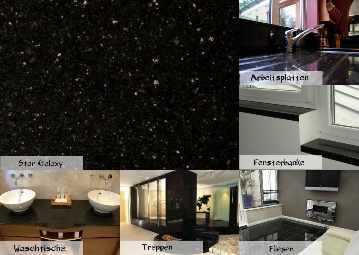 Der Granit Star Galaxy Steht Fur Einzigartige Und Zeitlose Eleganz Http Www Granit Naturstein Marmor De Preise Star Ga Granite Worktops Granite Flat Screen
