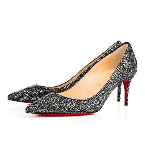 1678489f397a Decollete 554 Strass - Red Bottom Christian Louboutin Shoes ...