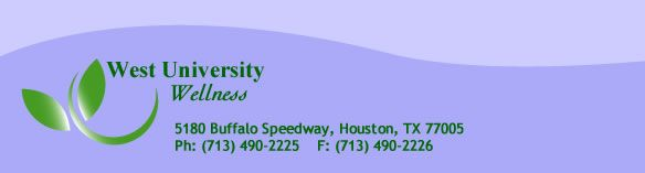 West University Wellness Chiropractic, Houston, Texas
