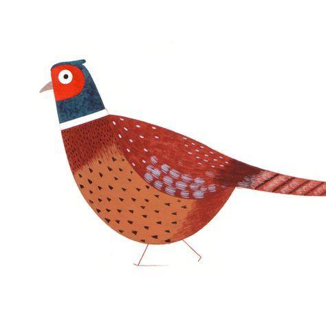 Game Bird set - Christine Pym