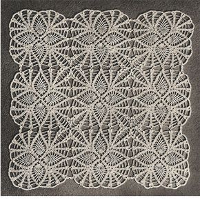 This pineapple flower motif is a single block that youll combine to this is a vintage 1951 crochet pattern to make a square the square has a nice pineapple motif crochet multiple squares and connect together to create dt1010fo