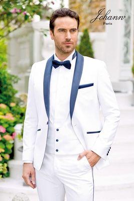 smoking venise blanc et marine wedding ideas pinterest smoking costume mariage et costume. Black Bedroom Furniture Sets. Home Design Ideas