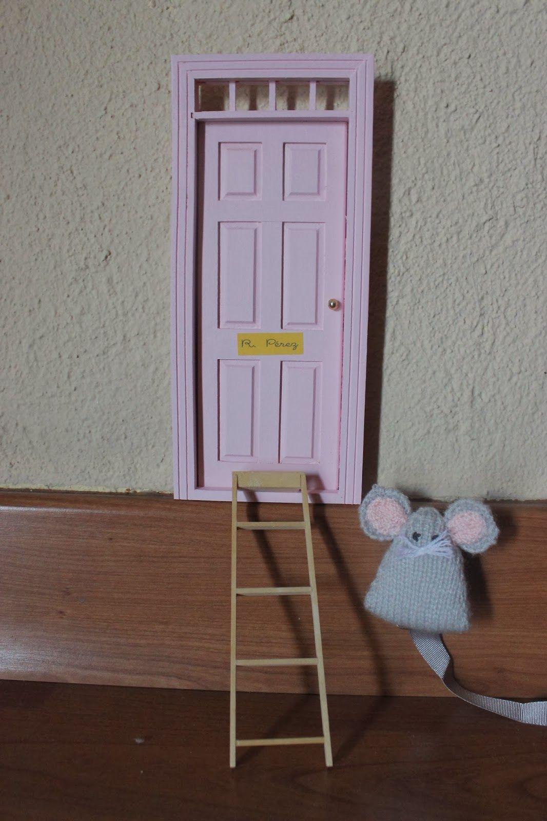 El ratón Pérez tiene su propia casa.