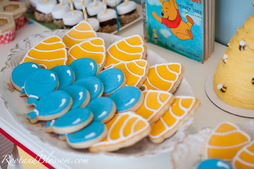 Winnie the Pooh 1st Birthday Party Guest Post by Lena from Root