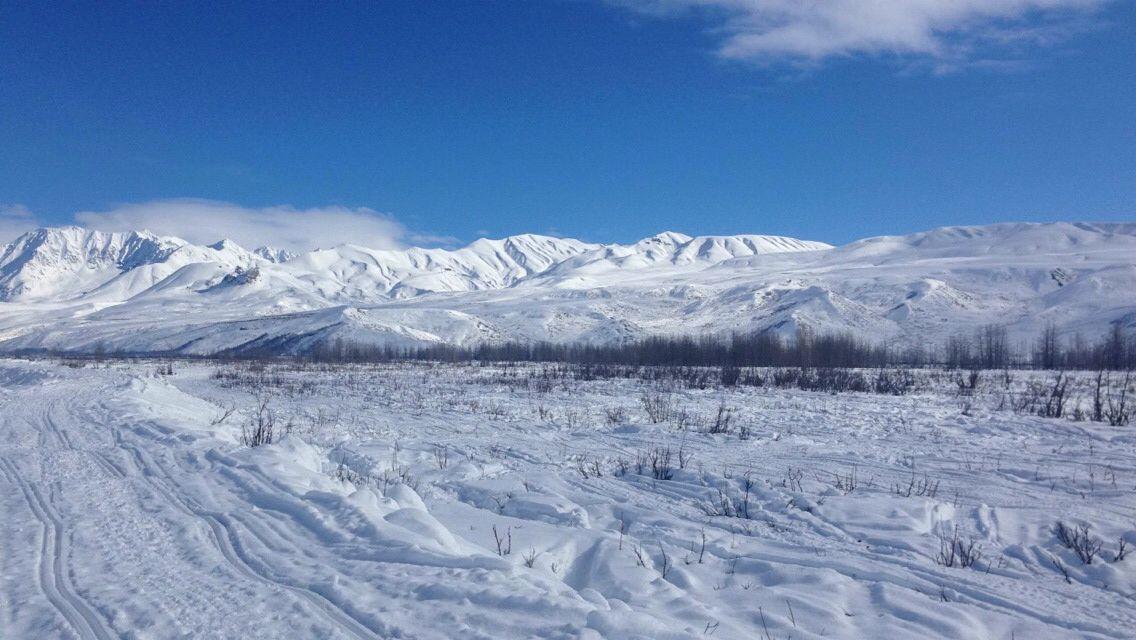 Hoodoo Mountains-Summit Lake, Alaska