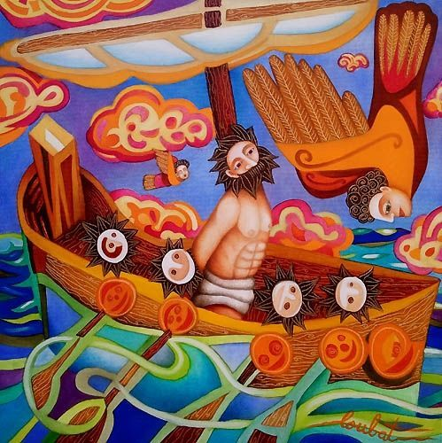 Philippe Loubat : Ulysse et les sirènes.