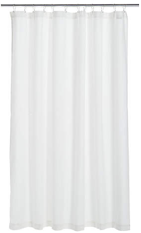 Dwr Honeycomb Shower Curtain White By Design Within Reach Design Within Reach Modern Fan Curtains
