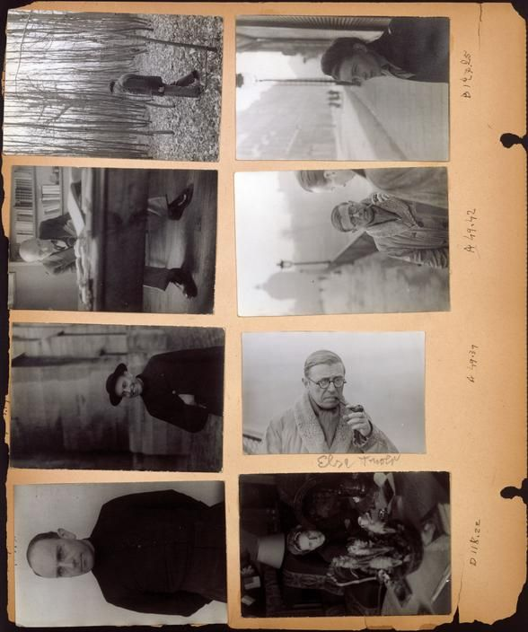 Henri Cartier-Bresson View profile Scrapbook of photographs put together by Henri Cartier-Bresson in New York in 1946: