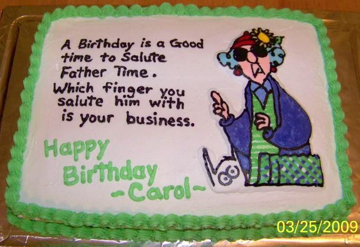 Maxine Quotes Maxine Birthday Cake 11x15 Graphics Pictures