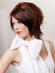 Neck Length Hairstyles ashley scott short haircut with hair touching her neck Image Result For Neck Length Hairstyles For Round Faces