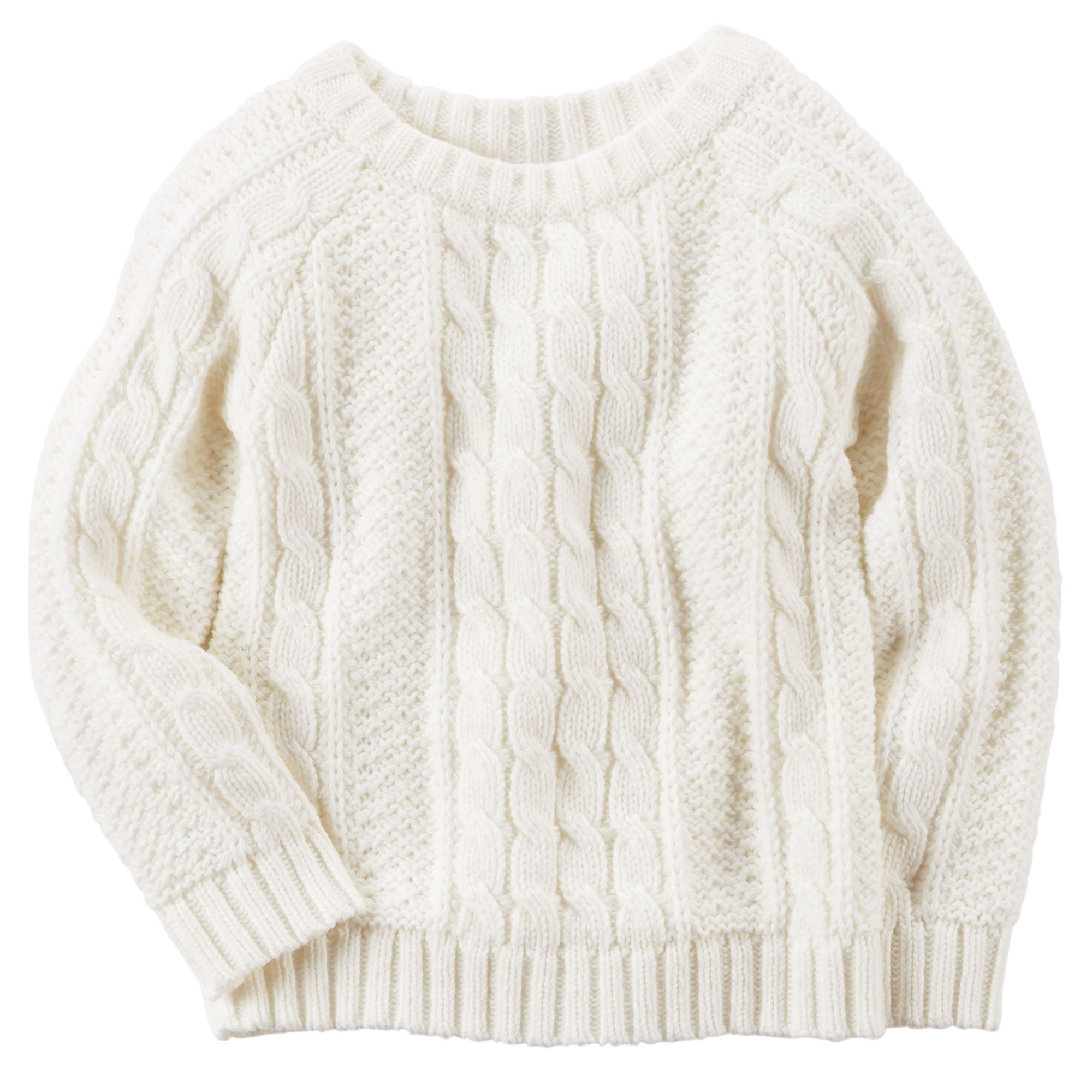 Baby Girl Chunky Knit Sweater | Carters.com | baby girl ...