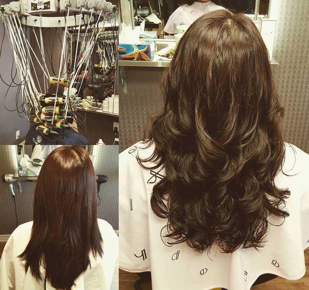 Digital Perm Picture Gallery Momo Hair Toronto Digital Perm Permed Hairstyles Hair Waves