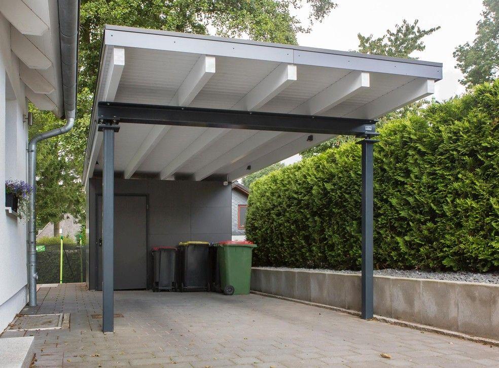 Meincarport De Carports Bauhaus Stahl Carports Carport Haus Aussen