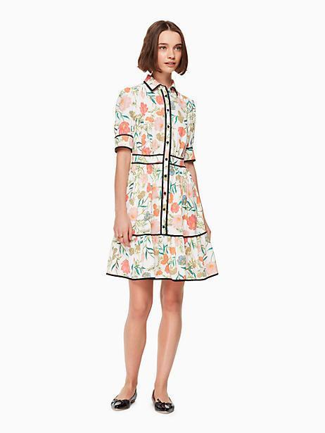 680adf7351e3b Kate Spade Blossom Fluid Shirtdress