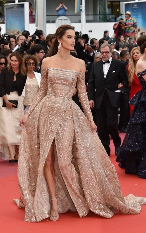 Cannes 2018: Cate Blanchett and Kristen Stewart lead the best dressed at the closing ceremony -  Alessandra Ambrosio in Zuhair Murad/Cannes Film Festival 2018  - #AngelaSimmons #Blanchett #Cannes #Cate #ceremony #closing #CurvyPetiteFashion #Dressed #Kristen #lead #RedCarpetFashion #SonakshiSinha #Stewart