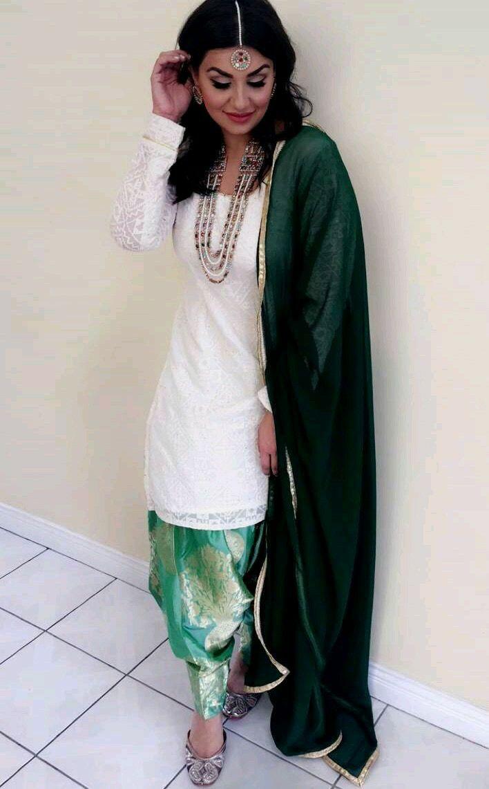 Punjabi Wedding Suit Bride Suits Salwar Indian Designer Wear Designers Fashion Guest