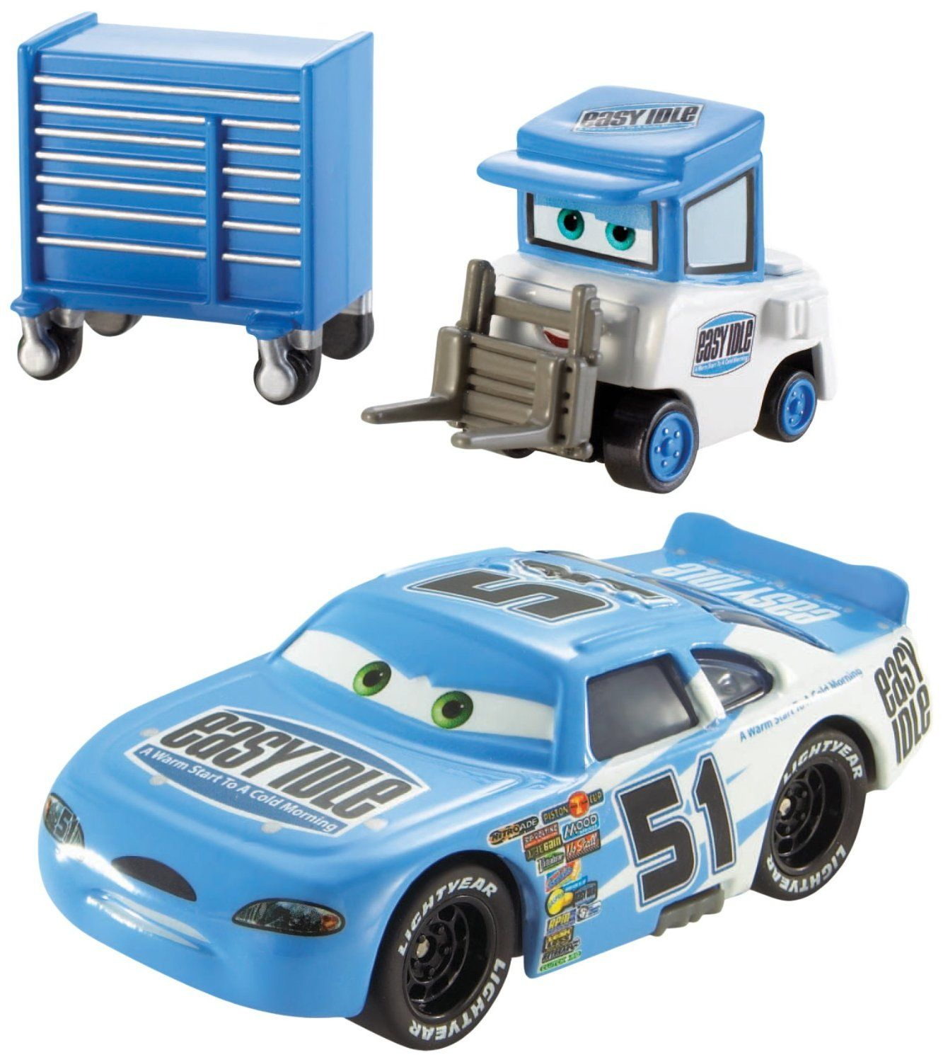 Mattel disney pixar cars 3 piston cup racers cars 1 to cars 3 visual - Disney Pixar Cars Piston Cup Die Cast Vehicles Ruby Easy Oaks And Easy Idle Pitty And Scale