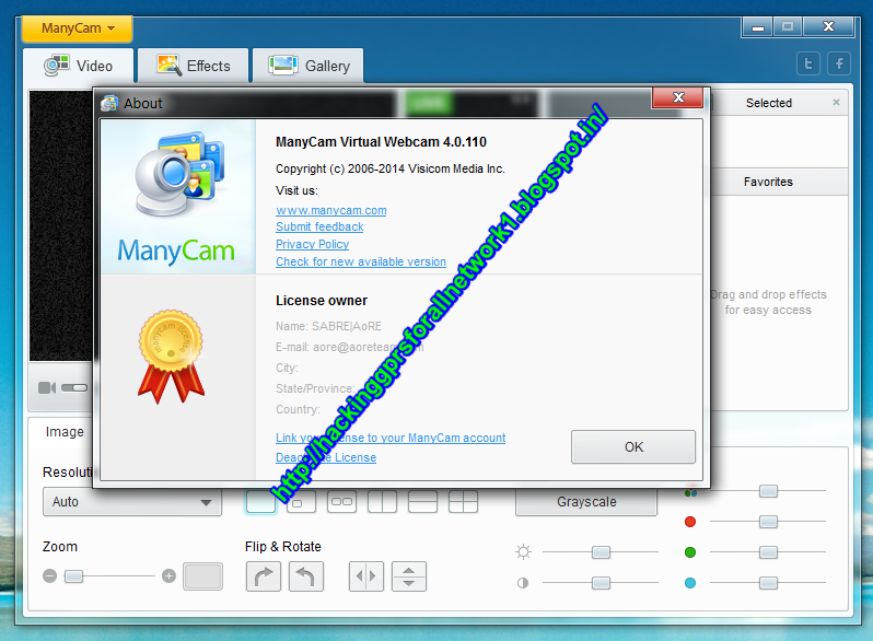 manycam 4.1.0.12 crack download