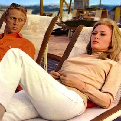 Steve McQueen & Faye Dunaway in The Thomas Crown Affair