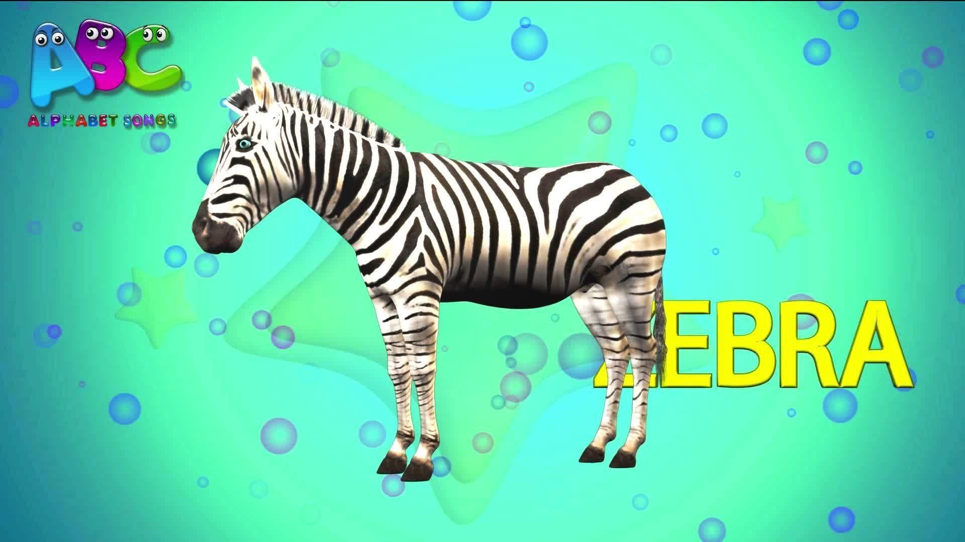 The Animal Alphabet ABC Song | ABC Animals Alphabet Song | 3D Nursery Rhyme
