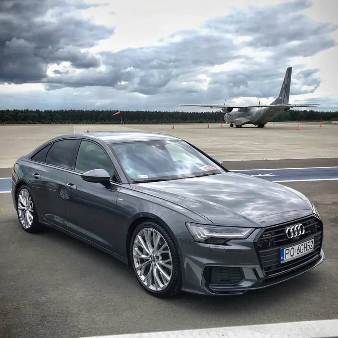 The New Audi A6 C8 Sedan In Daytona Grey Engin With Images