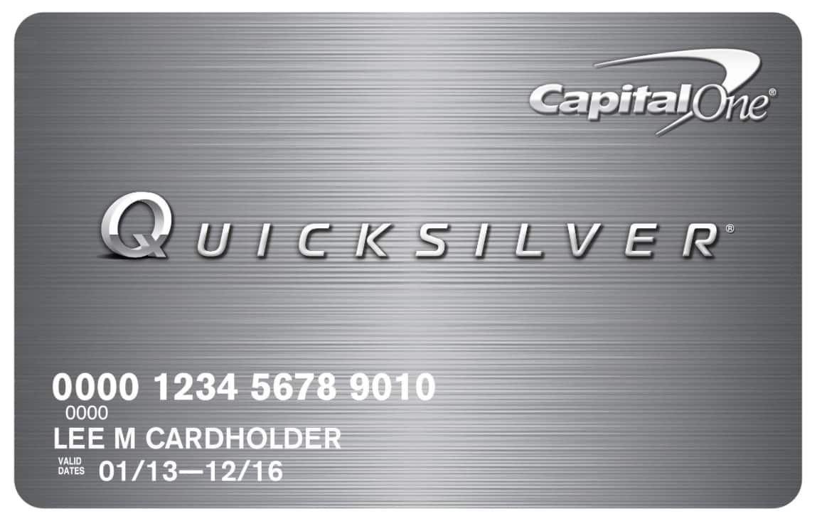 capital one quicksilver cash rewards credit card phone number раздел имущества долгов кредитов