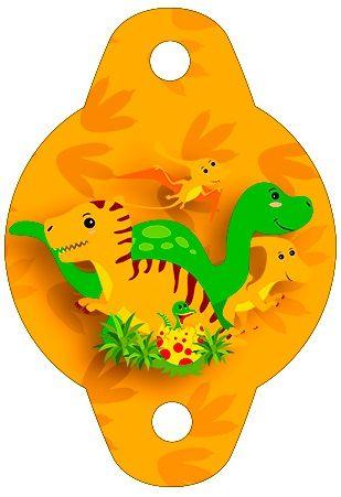 Adornos con dinosaurios para sorbetes samyart for Decoracion para sorbetes