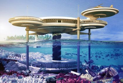 Construction will soon begin in Dubai for the Water Discus, the first five-star underwater hotel.