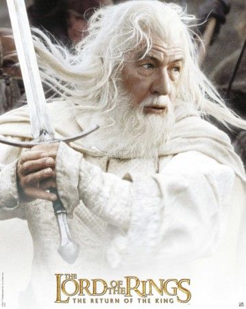 Gandalf le blanc tolkien lord of the rings the hobbit movies et gandalf - Dessin seigneur des anneaux ...