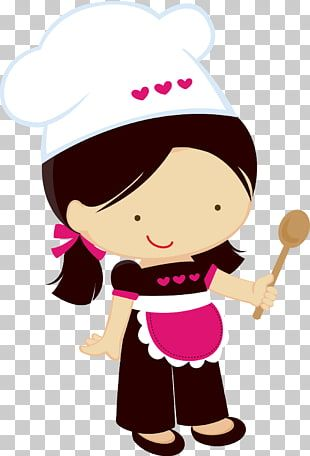 Mujer Chef Ilustracion Chef Nina Mujer Cocinando Chef Png Clipart Custom Illustration Cartoon Chef Clip Art