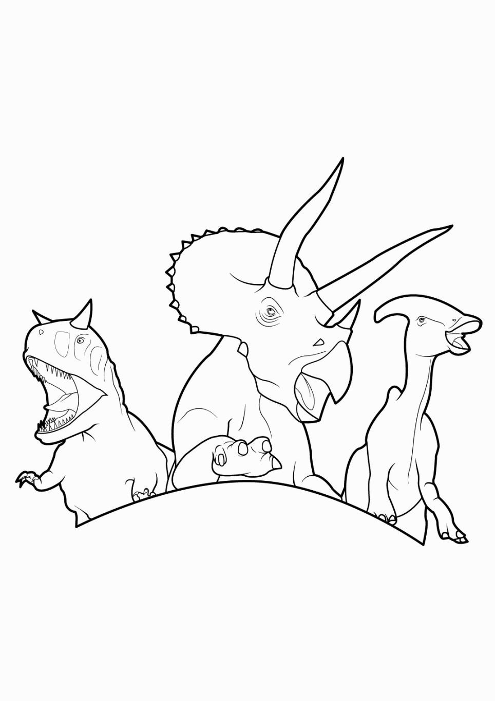 Free coloring pages dinosaurs - Dinosaur King Coloring Pages