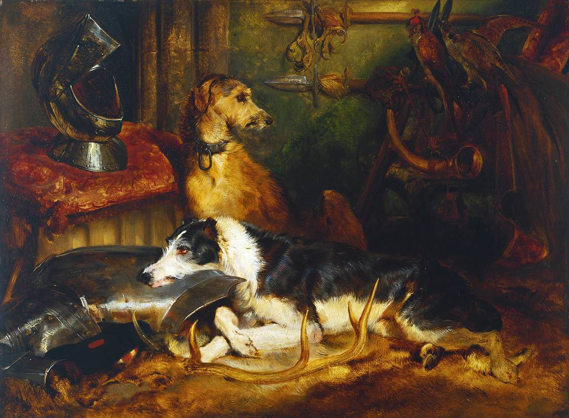 Victorian British Painting Sir Edwin Henry Landseer Dog Paintings Painting Animal Paintings