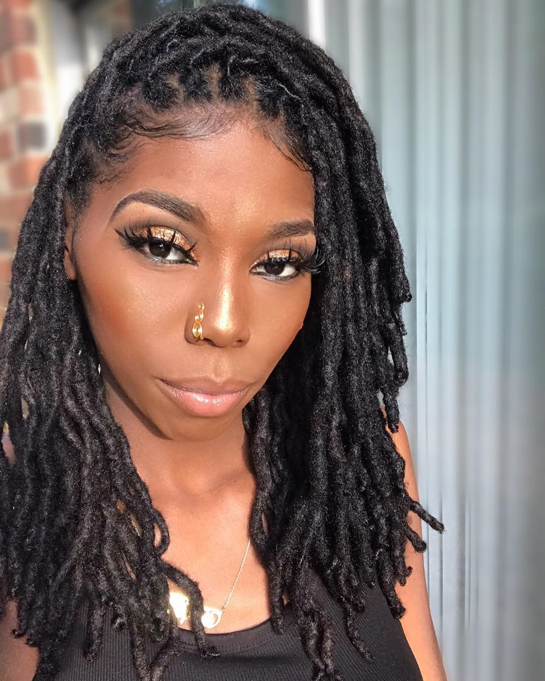 1 513 Likes 58 Comments Empress Empresslika On Instagram Temporary Post I Ll Wor Faux Locs Hairstyles Locs Hairstyles Dreadlock Hairstyles Black
