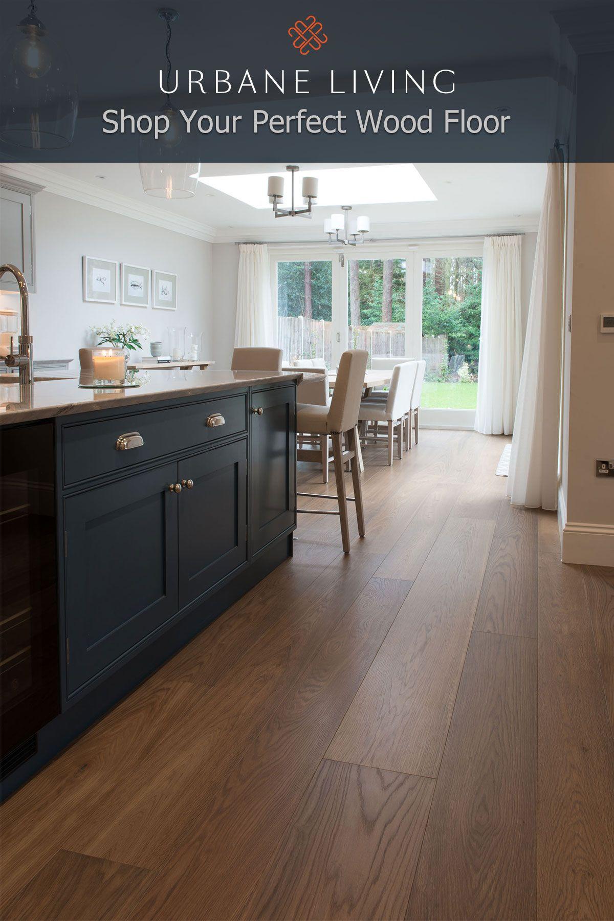 Meribel Oak Prime Grade Planks in mixed widths Interior
