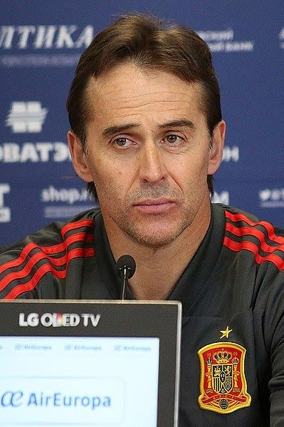 Julen Lopetegui has been named the new Real Madrid manager just weeks after committing his future to Spain 's national team.  Lopetegui signed a deal until 2020 on May 22 but Real Madrid have swooped for his services and he has agreed to join the Spanish giants after the World Cup. The 51-year-old represented Barcelona as a player for three years but will now take charge of their bitter rivals.  The move comes as a surprise with Lopetegui not featuring prominently among the host of managers link